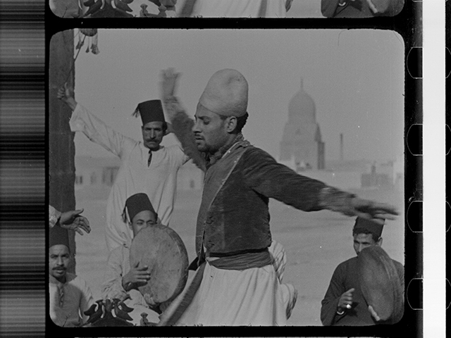 Egyptian (Whirling Dervishes) Dancers, Fox Movietone, 1928.