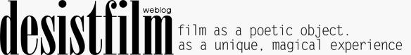 desistfilm web log